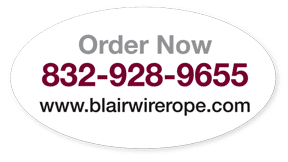 order now blairwirerope.com